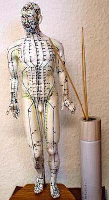 Akupunkturpunkte zur Schmerz-Behandlung